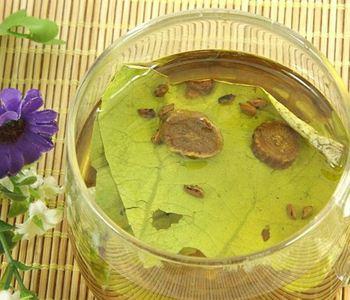 减肥茶 荷叶决明子山楂减肥茶的做法 减肥茶