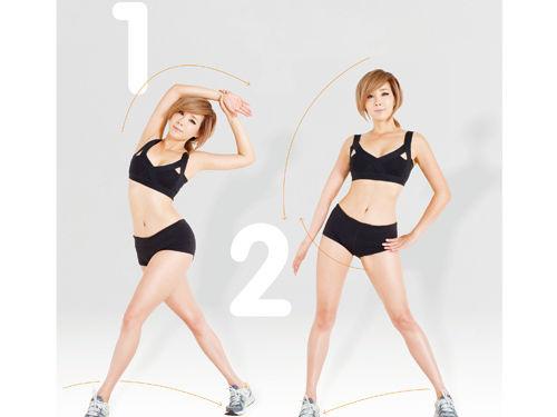 郑多燕减肥操 6组动作瘦手臂(图) 瘦臀 第1张