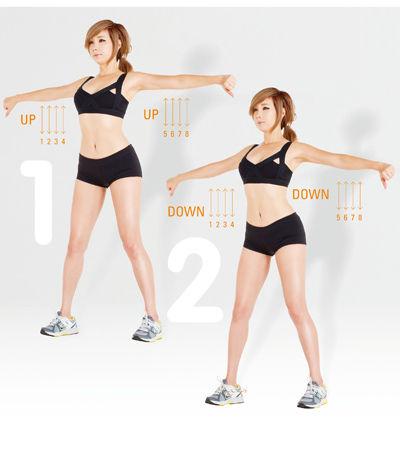 郑多燕减肥操 6组动作瘦手臂(图) 瘦臀 第3张