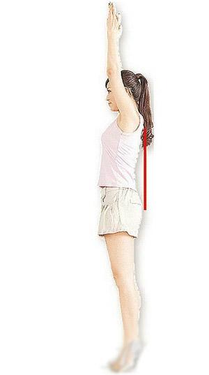 轻松瘦手臂 坚持一个动作(图) 瘦臀 第3张