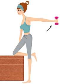 超简单瘦手臂动作 减掉粗胳臂(图) 瘦臀 第2张