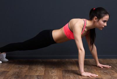 虎伸展式瑜伽动作 让你臀部起翘起来 瑜伽减肥 第2张