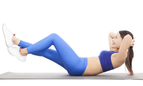 炮弹式瑜伽 消除腹部脂肪解便秘 瑜伽减肥 第6张