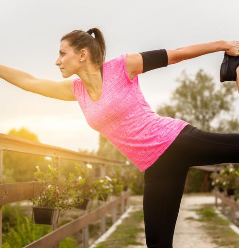 美女达人介绍乐享瑜伽心得 美女达人介绍乐享瑜伽心得 瑜伽减肥