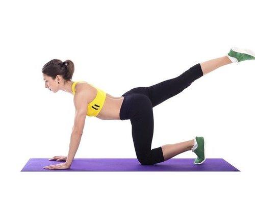 门闩式瑜伽瘦腰告别水桶腰(组图) 瑜伽减肥 第6张