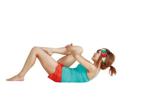 郑多燕塑身操 睡前动一动瘦腰又收腹(图) 运动减肥 第2张