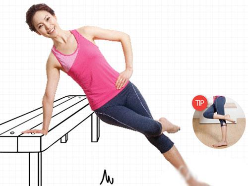 6组桌椅减肥操 塑造全身曲线(图) 运动减肥 第1张