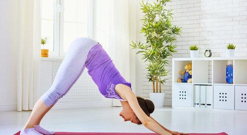 3个瑜伽动作 狂甩赘肉(图) 运动减肥 第1张