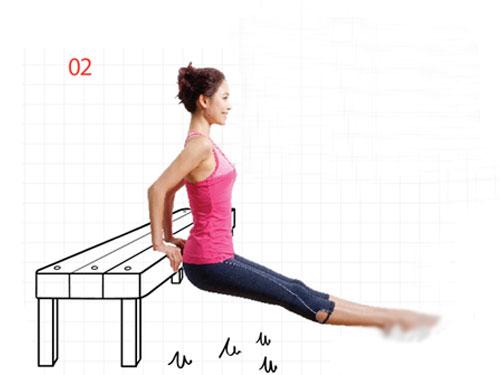 6组桌椅减肥操 塑造全身曲线(图) 运动减肥 第3张