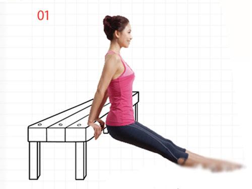 6组桌椅减肥操 塑造全身曲线(图) 运动减肥 第2张